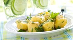 طريقة عمل سلطة البطاطس بالبقدونس - Delicious potato salad recipe