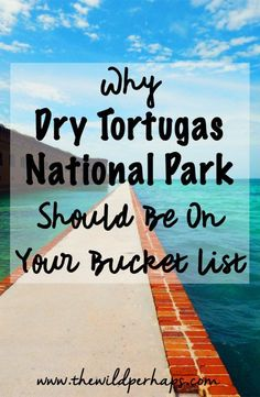 Dry Tortugas NP: Why You Must Visit Dry Tortugas National Park I Key West Florida I Florida Keys I Incredible Beaches I Bucket List Travel Visit Florida, Florida Vacation, Florida Travel, Usa Roadtrip, Usa Travel Guide, Travel Usa, Travel Tips, Travel Destinations, Travel Info
