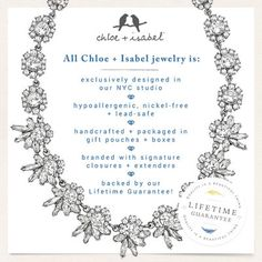 Find out more about Chloe + Isabel by visiting www.chloeandisabel.com/boutique/kristelcaffrey