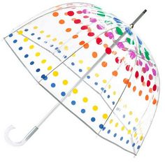 cute umbrella! Totes Clear Bubble Umbrellas - A Thrifty Mom