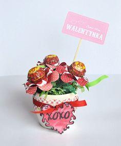 Romantyczny ILS: Walentynkowy bukiet z lizaków -KURS
