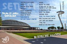 Depeche Mode - Delta Machine Setlist