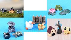 new 5 sets of Artificial animals GARDEN DECORATION ORNAMENT 16042001