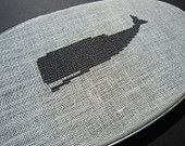 Modern Cross Stitch whale