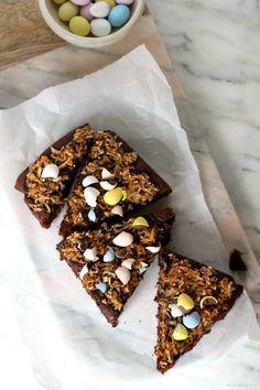 Small-Batch Coconut Fudge Brownies