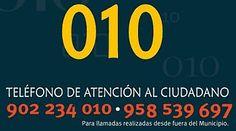 Teléfonos del Ayuntamiento de Granada