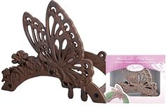 Butterfly Cast Iron Hose Holder in Gift Box - Esschert Design USA Hose Holder, Esschert Design, Iron Wall, Butterfly Design, Garden Hose, Amazing Gardens, Cast Iron, Appreciation, Unique Gifts