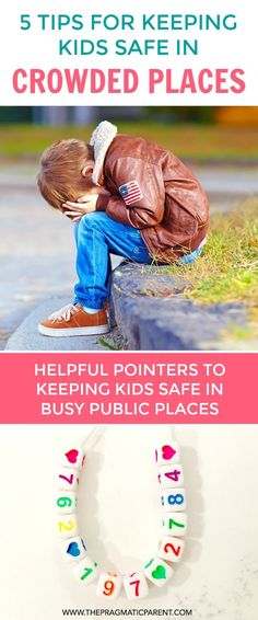 Whether You're at the Mall, Beach or an Amusement Park, Make Sure Your Take Precautions If You Become Separated From Your Child so You Can Be Reunited Quickly. 5 Critically Important Ways to Keep Your Kids Safe in Crowded Places. Helpful Pointers to Keeping Your Kids Safe in Busy Public Places When You're Out with Your Family. via @https://www.pinterest.com/PragmaticParent/