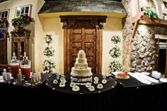The cakes are always beautiful here at The Palace Event Center #weddings #venues #cakes #thepalaceeventcenter
