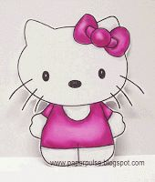 Hello Kitty free SVG, DXF and studio cut files