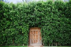 the secret door at Parker Palm Springs | Photography by jessicakettle.com | Design + Planning by amorologyweddings.com | Floral Design by jldesignsandevents.com | Read more - http://www.stylemepretty.com/2013/07/11/palm-springs-wedding-from-amorology/