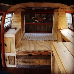 """Layout is complete! Another 5 hours and another 2 cabinets. I can't wait to take her out on a test run and go camping for a few days. Knobs, curtains, and…"""