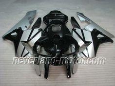 Honda CBR 600RR F5 2005-2006 ABS Verkleidung - schwarz / silber #cbr600rrverkleidung #verkleidunghondacbr600rr