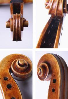 "1727 Stradivari Viola ""Cassavetti"" from Library of Congress Collection Antonio Stradivari, Instruments, Library Of Congress, Cello, Boxes, Collection, Diy, Flip Charts, Dibujo"