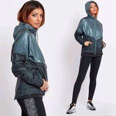 Rain Wear, Sportswear, Rain Jacket, Windbreaker, Sporty, Athletic, Hoodies, Nike, Lady