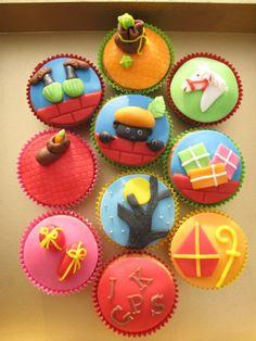 Leuke cupcakes om te maken voor Sinterklaas