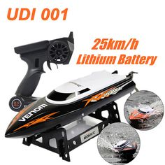 UDI001 RC Boat Bateau One Propeller Remote Control Boats Remote Control Toys 2.4GHz 4CH Water Cooling High Speed RC Speed FSWB