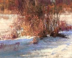 Winter Grass... pastel 2016 - Pastel