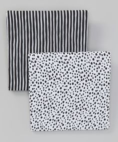 Another great find on #zulily! 48'' x 48'' Pebbles & Stream Organic Swaddling Blanket Set #zulilyfinds