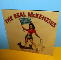 REAL McKENZIES off the leash LP Vinyl Record SEALED , produced by nofx fat mike #punk