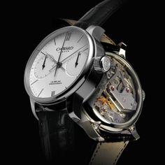Swiss Made Single pusher chronograph by Christopher Ward C900. Nominated for watch of the year 00/24 - http://www.0024watchworld.com/component/com_surveyforce/Itemid,491/view,survey/ give it your vote...