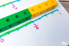 Understanding Fractions On A Number Line - More Time 2 Teach 4th Grade Fractions, Teaching Multiplication, Third Grade Math, Teaching Math, Real Teacher, Teacher Stuff, Math Lesson Plans, Math Lessons, Number Line Activities