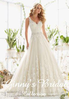 Mori Lee Bridal Wedding Dress 2821