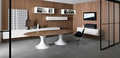 Ola - Martex会議用テーブル、デザイナー Mario Mazzer