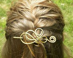 Hair Accessories Hair Slide Hair Clips Hair by ElizabellaDesign
