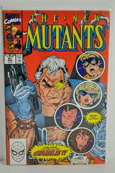 New Mutants #87 1990 1st Print VF First App Cable Liefeld