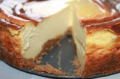 New York cheesecake.