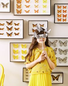 New editorial for Sunday Telegraph Kids with photographer Joanna Paterson Butterfly Frame, Butterfly Kisses, Butterfly Pictures, Henri Matisse, Arts And Crafts, Diy Crafts, Kid Styles, Mellow Yellow, Beautiful Butterflies