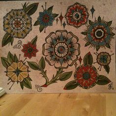 omg! these are the flowers I want for my next tattoo! thnx stace