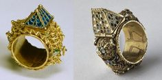 16th cent. Jewish marriage rings