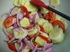 Fire and Ice Salad ~ http://www.southernplate.com