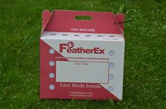 "http://www.featherex.com/shipping-boxes-online-store.html FeatherEx Live Birds Shipping Box 18"" long x 10"" wide x 14"" high + 5"" handle height #Live #Bird #Shipping #Boxes"