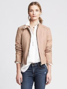 Banana-Republic-Quilted-Blush-Leather-Moto-Jacket-New-with-Tags-498