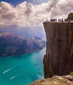 Preikestolen Norway ~ Photograph By @kplaulo #natgeography