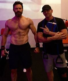 After 8 uninterrupted years of perfecting our personal training business, we can look back and remember that time we trained Hugh Jackman for his next role. #gym #fitnola #wolverine #hughjackman