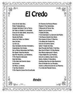 Our Father Prayer, God Prayer, Prayer Quotes, Holy Monday, Catholic Prayers In Spanish, Catholic Catechism, Journal Questions, Apostles Creed, Bible Verses For Kids