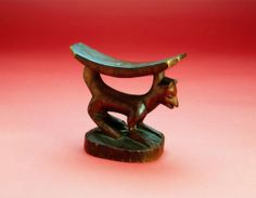 Headrest place madeDemocartic Republic of the Congo culture groupYaka materialsWood dimensions16.7 cm