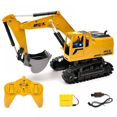 RC excavator toys with Music and light Children's Boys RC truck toys gifts RC Engineerin. RC excavator toys with Music and light Children's Boys RC truck toys gifts RC Engineering ca Car Dump, Dump Truck, Kids Toys For Boys, Gifts For Boys, Best Christmas Toys, Kids Christmas, Christmas 2019, Christmas Crafts, Toys For 1 Year Old