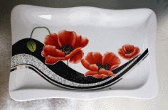 """Résultat de recherche d'images pour """"coquelicots sur vase porcelaine"""""""