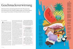 Die Titelgeschichte im neuen Heft: Besser essen! Jeder kennt sich aus und weiß eigentlich doch nichts: Was waren jetzt noch mal die bösen Fette? Welche Foodblogs taugen was? Und wie erkennt man eine gute Wassermelone? 44 Punkte, die das Essen besser machen.