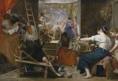 """'Las hilanderas', de Diego Velázquez - El Prado se mira a sí mismo en """"Metapintura"""" - Libertad Digital"""