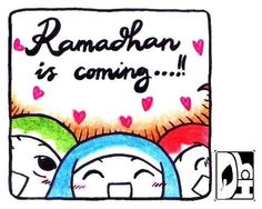 Ramadhan is coming!!!! Feeling so excited ❤️