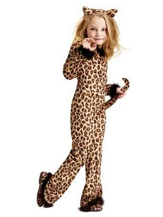 Pretty Leopard Child Girls Costume This costume is as warm and cozy and pajamas and as cute as can be. The Girl's Pretty Leopard costume features a leopard print vel Kids Costumes Girls, Toddler Costumes, Cat Costumes, Halloween Costumes For Girls, Animal Costumes For Kids, Toddler Halloween, Cat Girl Costume, Tiger Costume, Kids Cheetah Costume