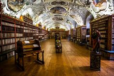 Baroque Library in Prague – Fubiz Media