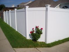 Vinyl Fencing.  Future Outdoors is the company in DFW to call.  972-576-1600