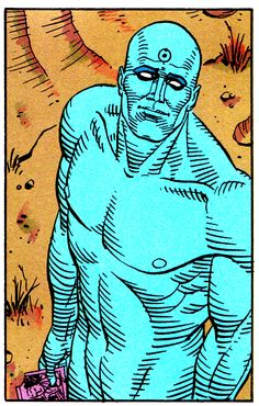 "Watchmen #3 (November 1986) - ""The Judge of All the Earth"" (art by Dave Gibbons & John Higgins)"